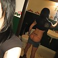 Ultra sexy mixed amerasian girl sent in these nude mirror selfies - image 2
