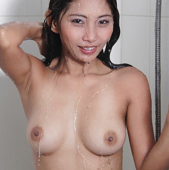 Candid shots of super hot filipina dream girl maybel in the shower